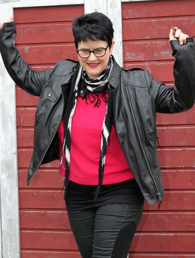 Sabine Gimm Lederjacke 1