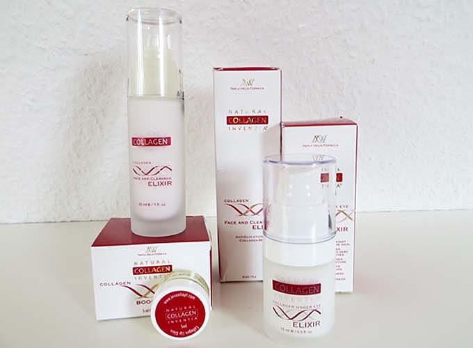 Inventia Natural Collagen – 3 tolle Produkte und 1 Gewinnspiel #Werbung