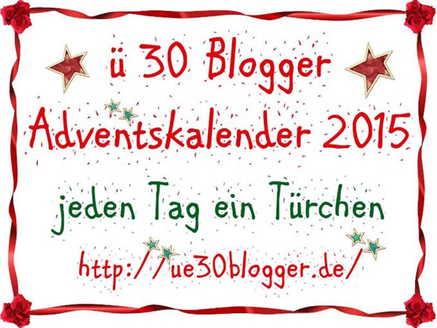 Adventskalender der ü30Blogger: 23.12.