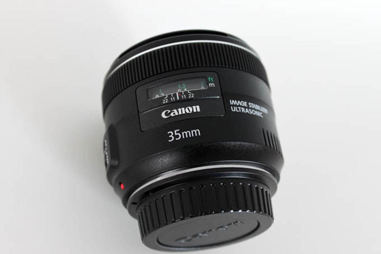 Neues Canon EF 35mm Objektiv 1:2 IS USM – gebraucht gkauft