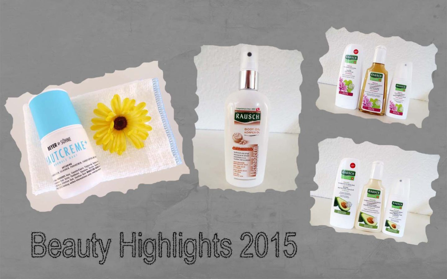 Meine Beauty Highlights 2015 – neues Video