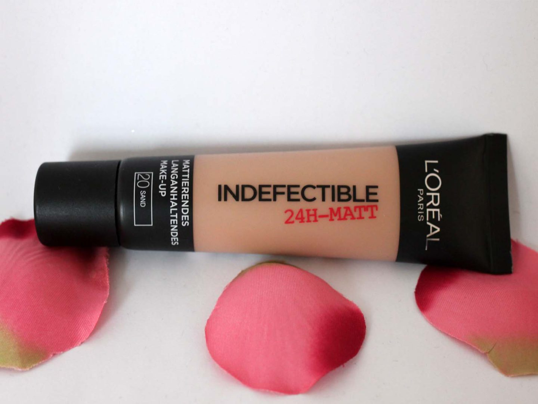 Nachgekauft:  Das Indefectible Matt Make-up von L'Oréal Paris