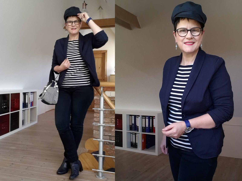 Maritimes Outfit – garantiert ohne Winterblues