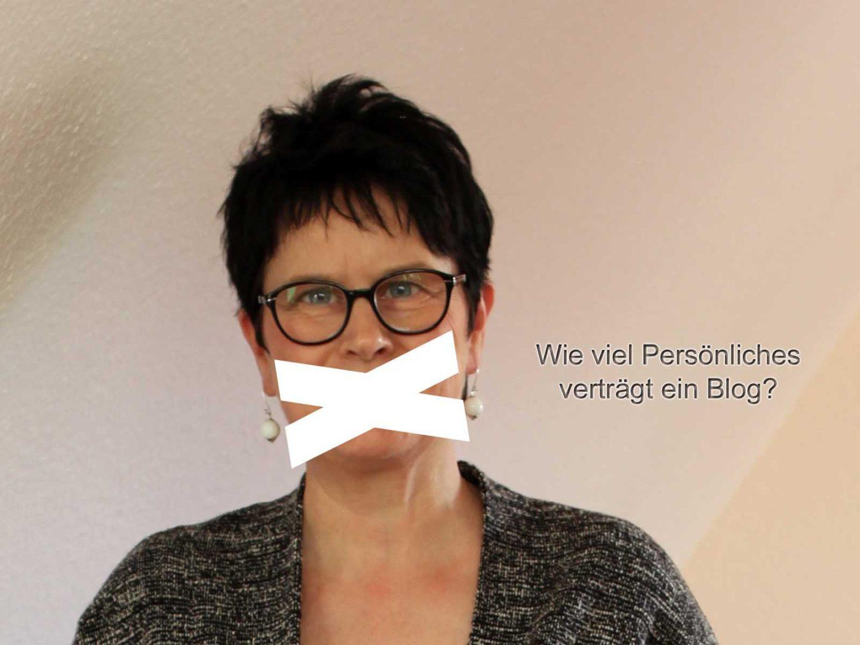 Wie viel Persönliches/Privates muss, kann, sollte ein Blog enthalten? Blogparade