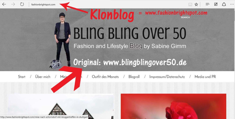 Mein Blog wurde geklont!
