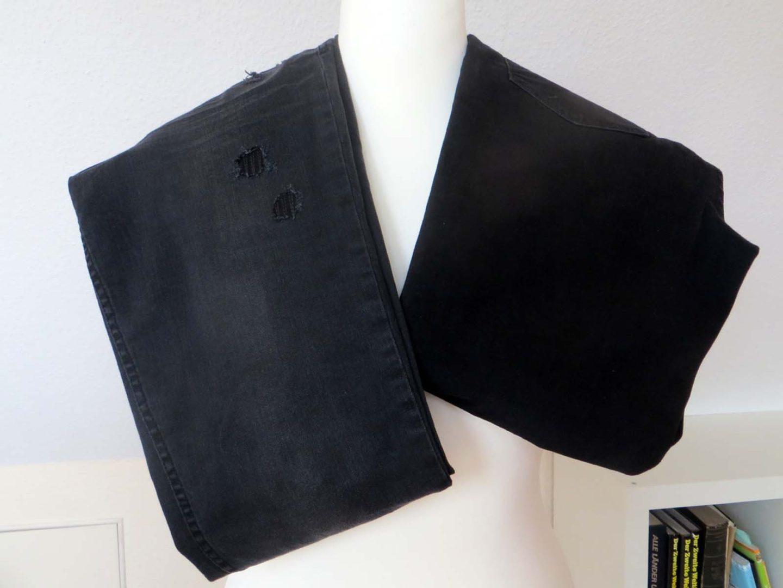 Zwei schwarze Jeans von Cecil und ein Award von Nessy