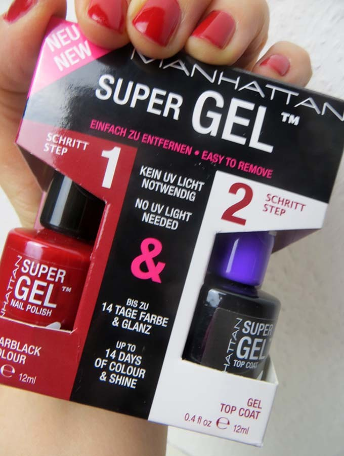 manhattan super gel nail polish und top coat sabine gimm. Black Bedroom Furniture Sets. Home Design Ideas