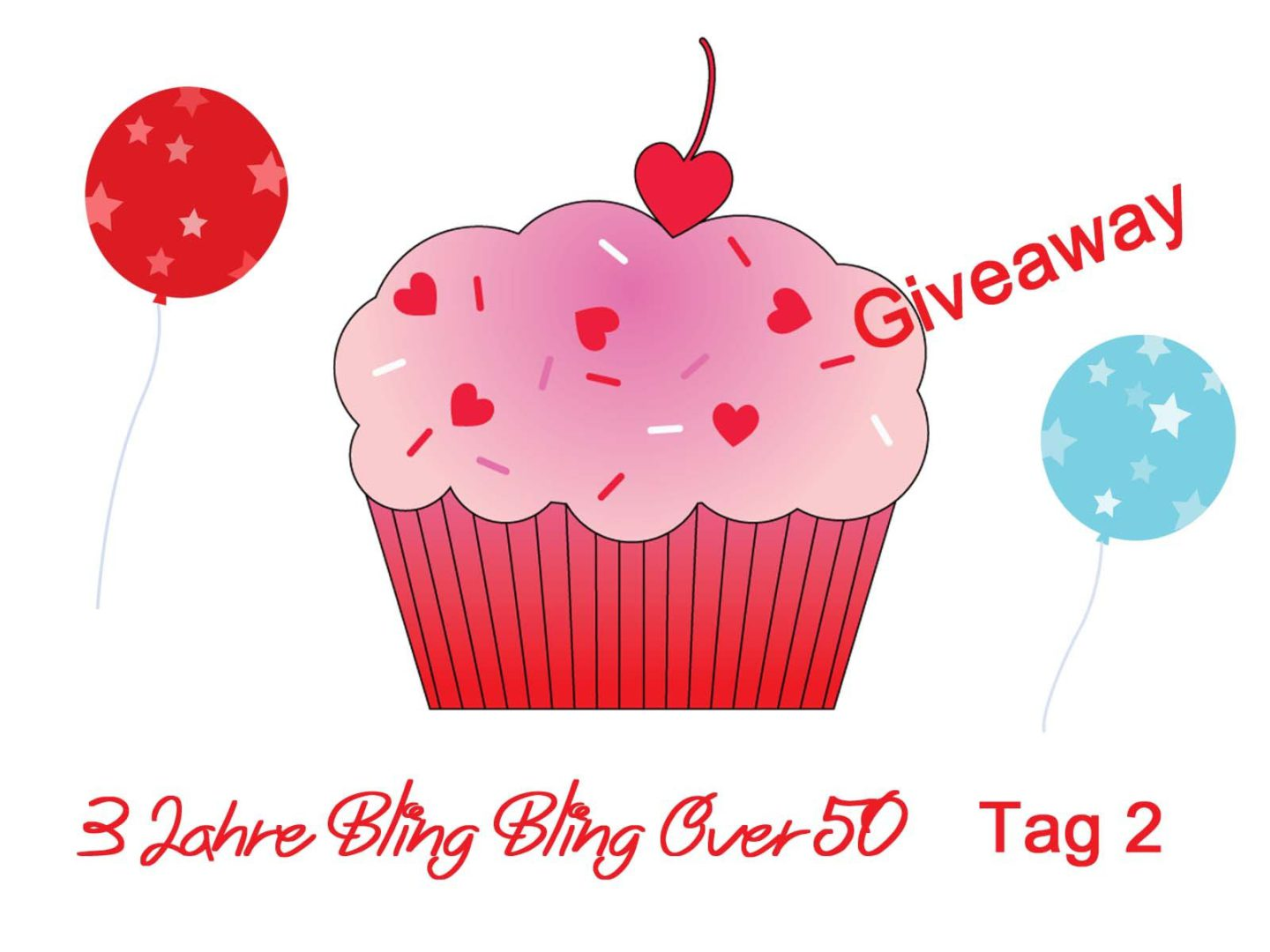 3 Jahre Bling Bling Over 50 – Giveaway Tag 2
