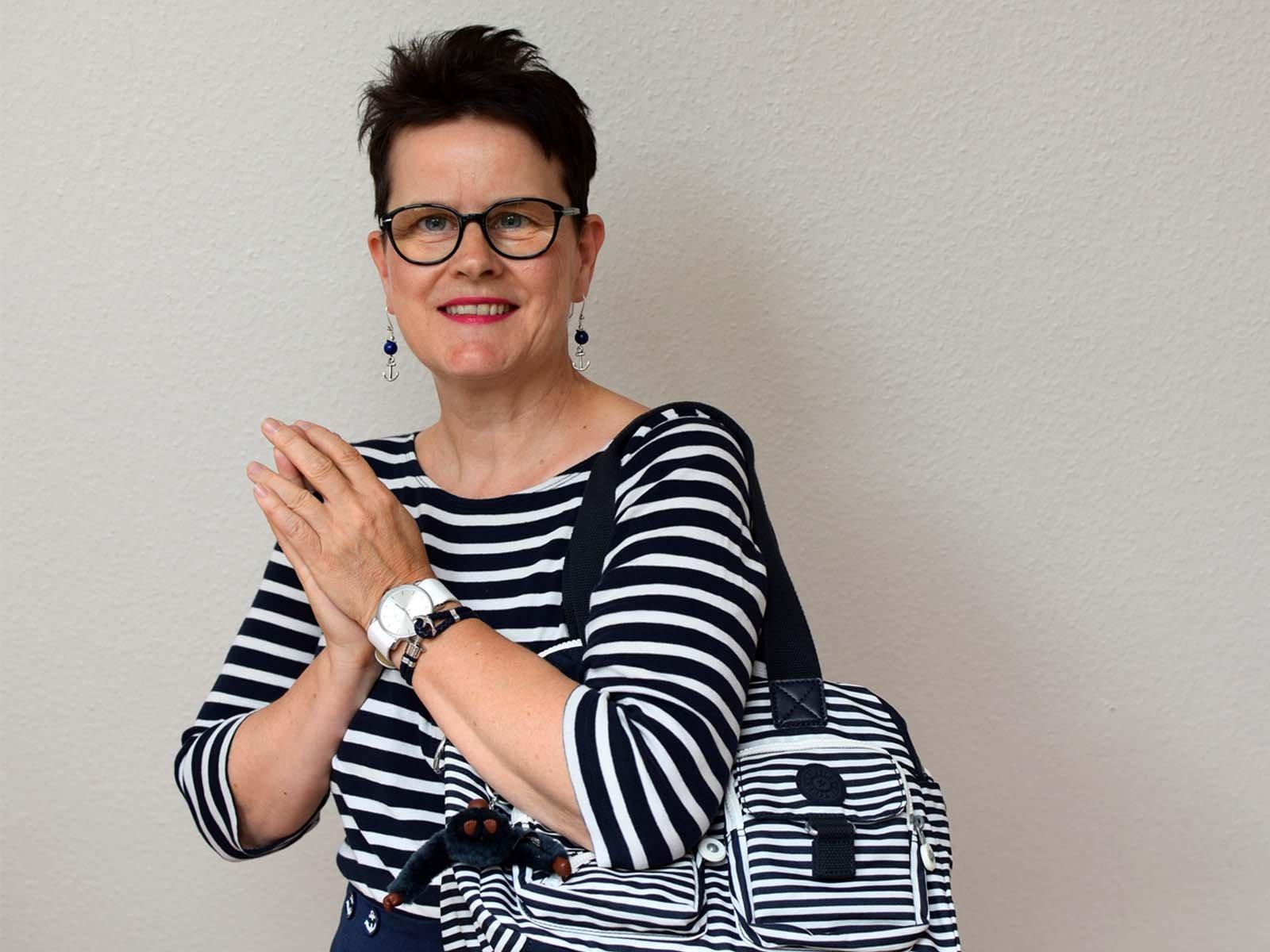 Ahoi! Rockabilly Matrosen Hose mit Ringelshirt – Sabine Gimm