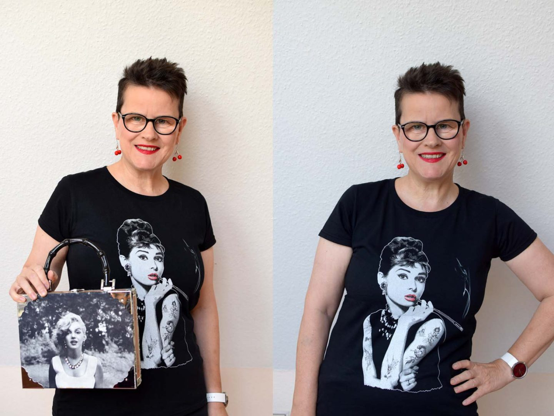Audrey Hepburn meets Marilyn Monroe