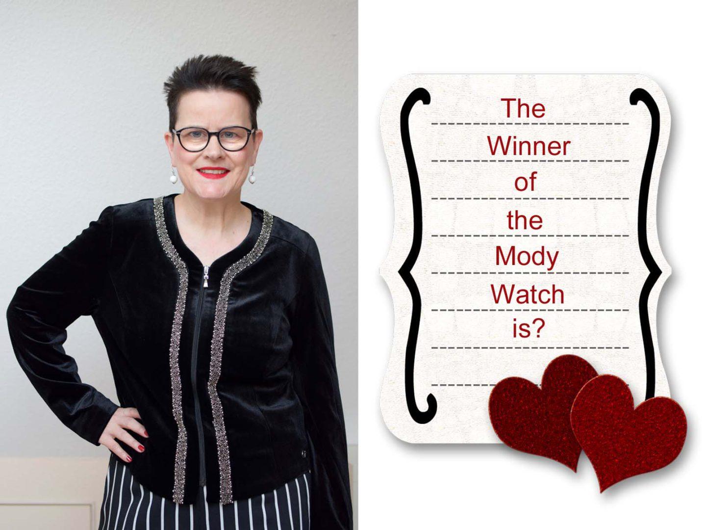 Ein misslungenes Outfit und eine Gewinnerin der Mody Watch