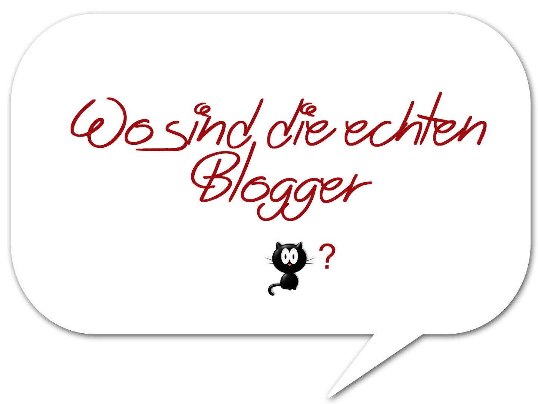 Wo sind die echten Blogger?