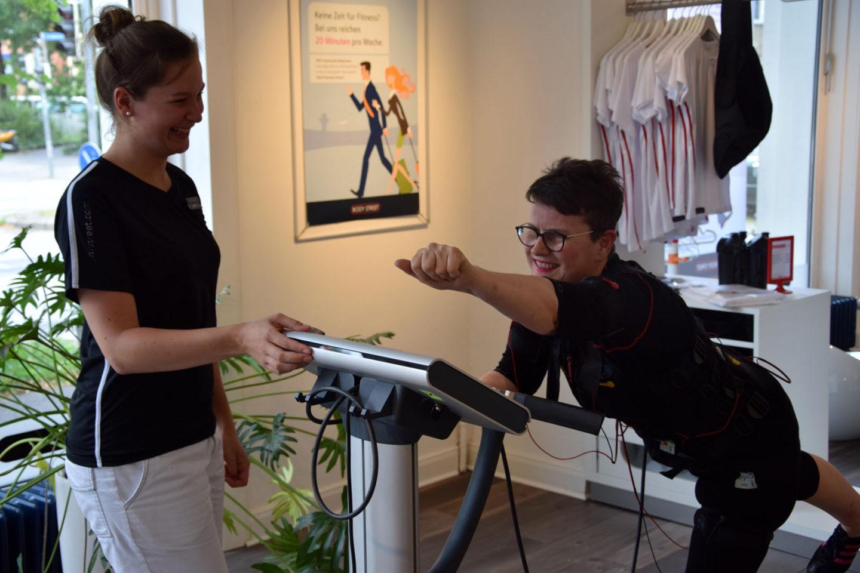 EMS Training – so halte ich mich fit!