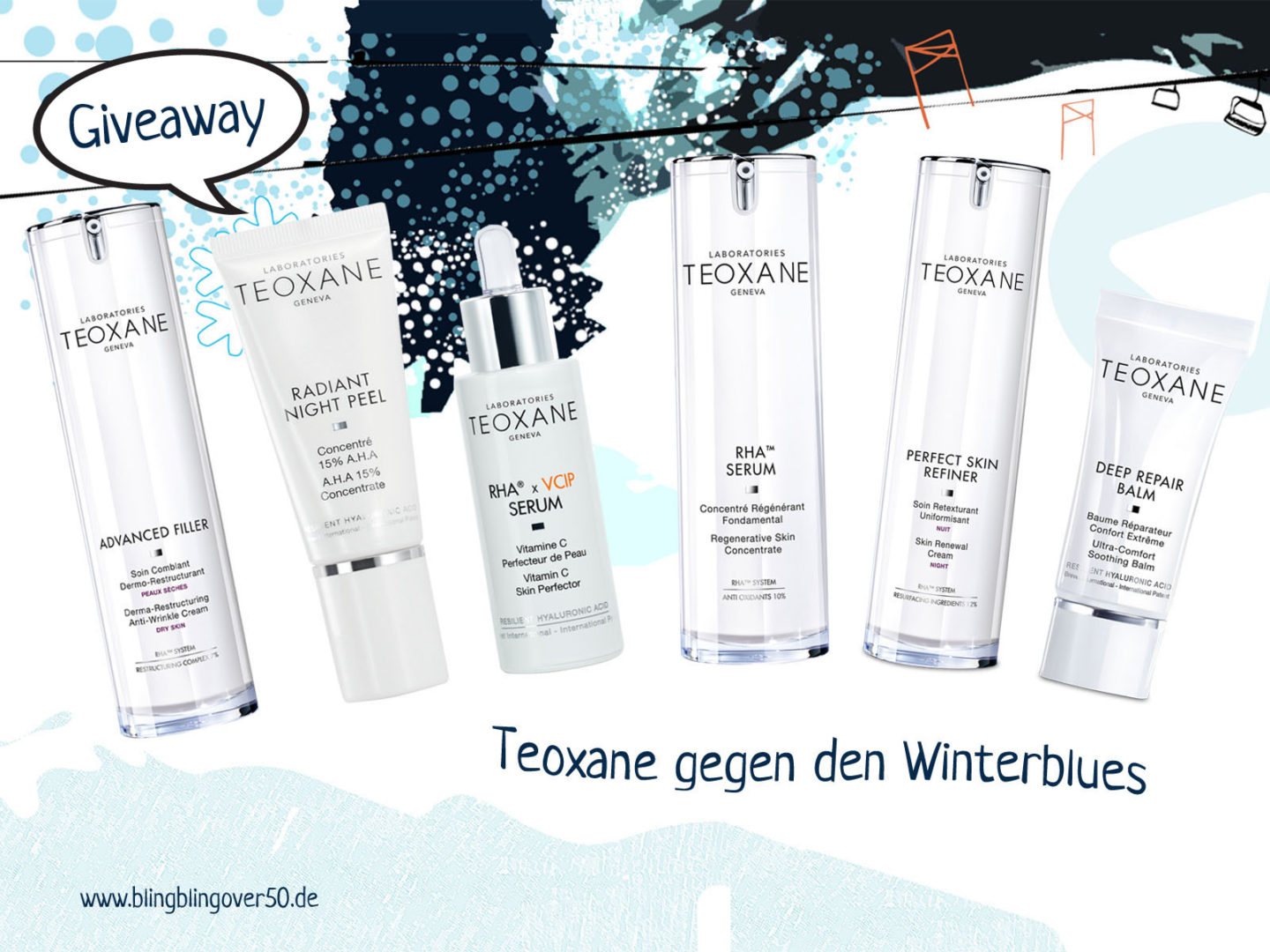 Teoxane gegen den Winterblues #Giveaway
