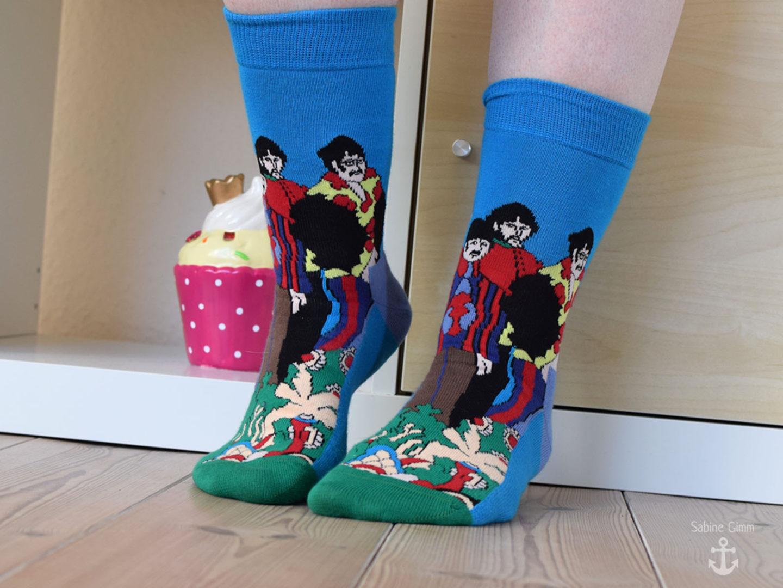 Trend 2018 – bunte Socken