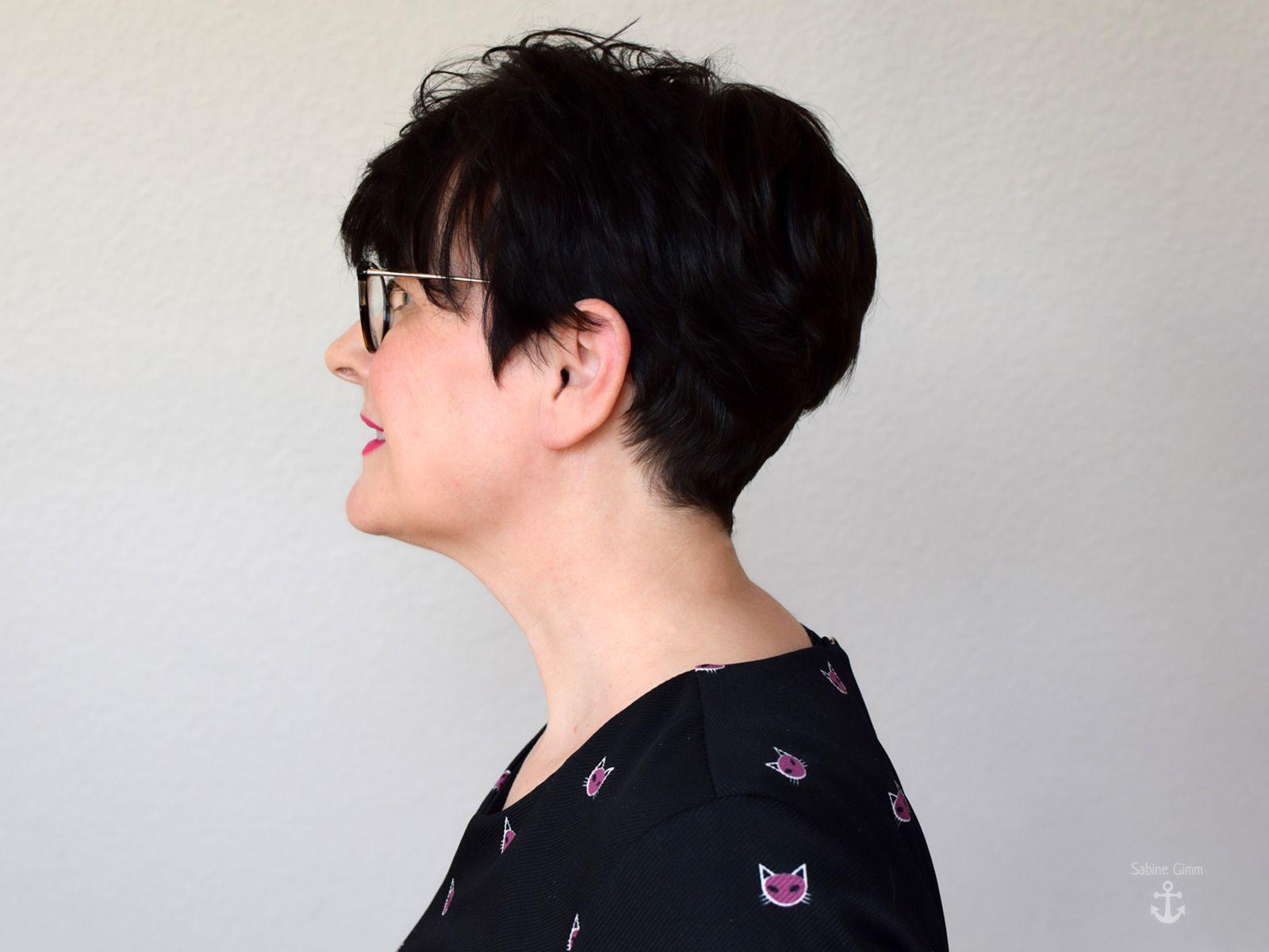 Die Frau über 12 braucht einen flotten Kurzhaarschnitt – Sabine Gimm