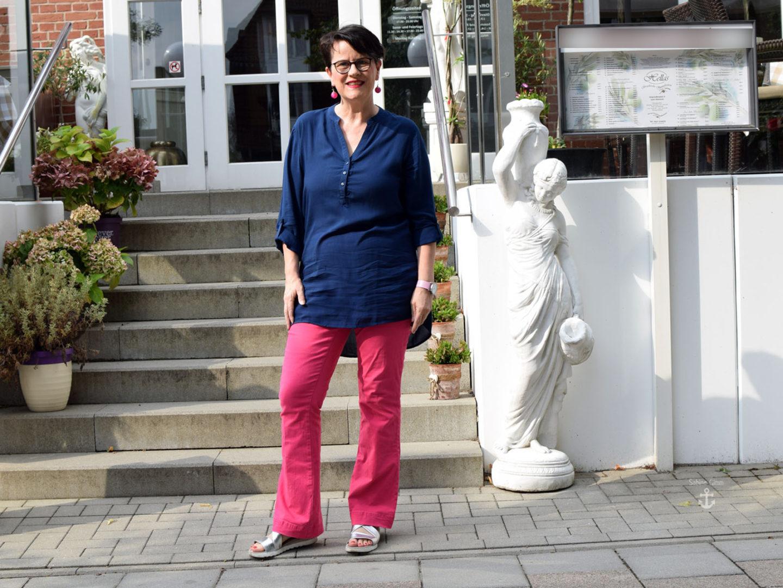 Pretty in Pink – mit leichter Tunika aus Viskose