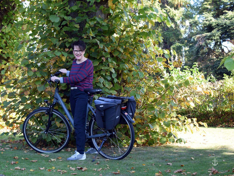 Me and my Pedelec – das richtige Radfahr-Outfit im warmen Oktober 2018