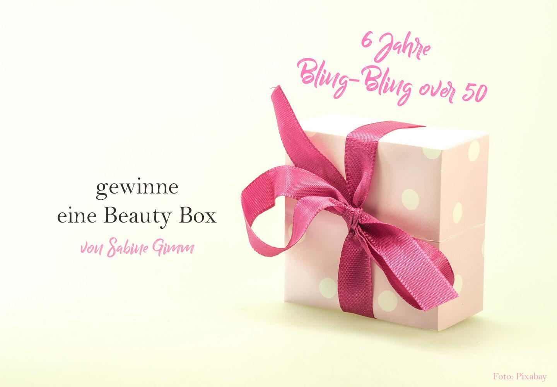 6 Jahre Bling-Bling over 50 – gewinne eine Beauty Box