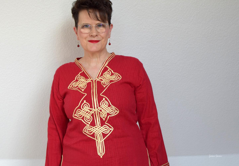 Orientalisch – meine Tunika aus Marokko